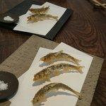 Small fish tempura