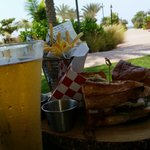 Great lunch poolside (but its not publicly offered, so ask for it)