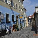 Улочки Братиславый ведущие к Граду
