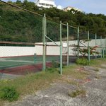 Decommissionad Tennis Court