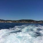 Båttur til Saint-Tropez/Port Grimaud.