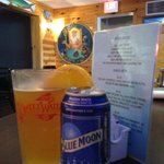 Blue Moon: Perfect w/Broiled Shrimp