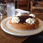 Overpriced Belgian waffle