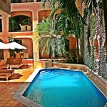 lavish pool and common areas