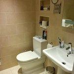 Refurbished room bathroom