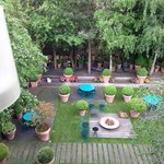 Nice view of the garden