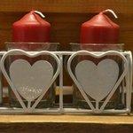 Deux des nombreux coeurs