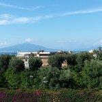 Daytime view of Vesuvius
