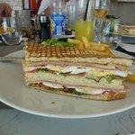 club sandwich hummmm