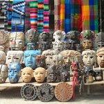 artesanato em Chichén Itza
