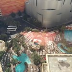 Pool complex from room