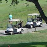 ptite voiturette pour se rendre au golf
