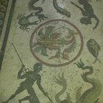 Floor in Pompeii