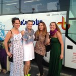 Me, my sister, my cousin, and our fabulous guide Antonella after the tour!