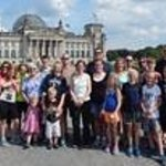 Group at Reichstag Building