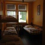 Hostel room (four person dorm)