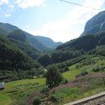 From the Flamsbana train