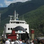 The ferry for the fjord portion of the tour (beware the $15 beer!)