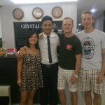 Manager Thomas Ngyuen and us