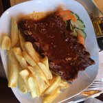 Ribs sauce barbecue excellent!!!