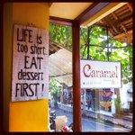 Caramel's Slogan
