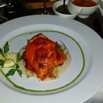 Red Snapper du jour at Seven Seafood and Grill