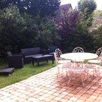 jardin terrasse aménagé