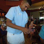 Andres our waiter