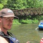 Creighton our top gun river man