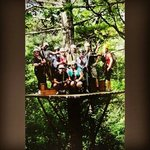 Sky Valley Zip Tours ... High in the tree tops while zipping