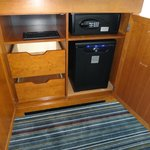 Safe and Mini Bar