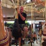 Yes I'm over 40. Yes I'm on a merry go round....no, I don't care.