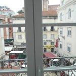panorama dalla finestra e doppi vetri