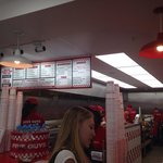 Zoom in for the menu & prices at five guys burger & fries, bullring