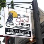 Look for the Black Cat Sign of Gettysburg Ghost Tours