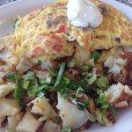 California omelette ($9.99)