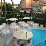 pool party (vista dalla terrazza/solarium)