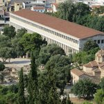 Agora Museum from above