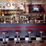 Diner bar.