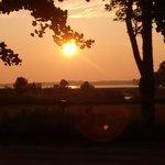 Sunset at The Black Licorice Tree B&B
