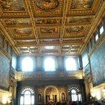 Decke von Vasari