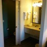 Small bath area