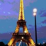 Bon soir mademoiselle Paris