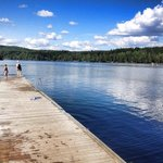 Great lake for swimming and relaxing!