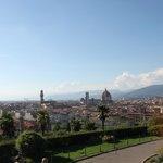 Ausblick über Florenz