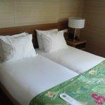 Room, beds
