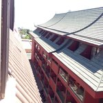 View to Siam Hotel from window