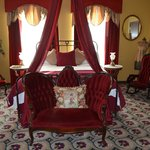 Lady in Red Room