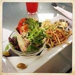 Crab pita  - delicious!