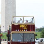 Le BIG BUS  magique pour WASHINGTON (RED)
